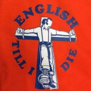 English Till I Die T-Shirt (Orange/Luton)
